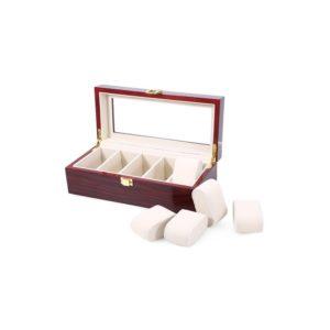 caseta-pentru-depozitarea-ceasurilor-din-lemn-cu-4-spatii