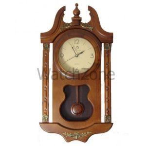 ceas-perete-cu-pendula-din-lemn-circle-moon-tx-2505