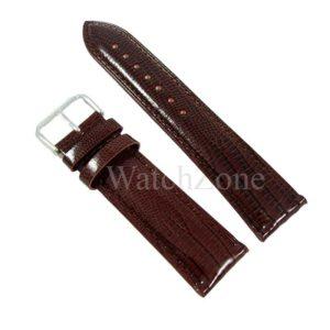 curea-ceas-piele-maro-chocolate-imprimeu-sarpe-12mm-24mm