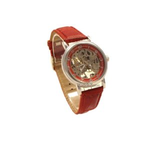 ceas-mecanic-goer-skeleton-red-wz097r