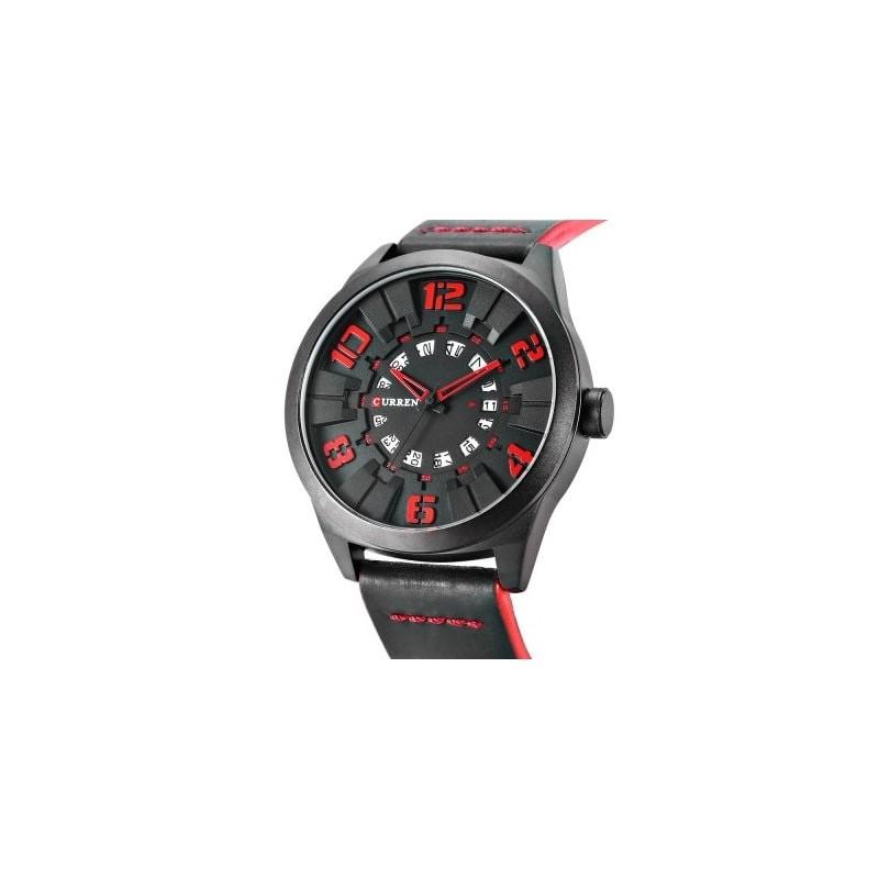 ceas-barbatesc-negru-curren-m8258-black-red (1)