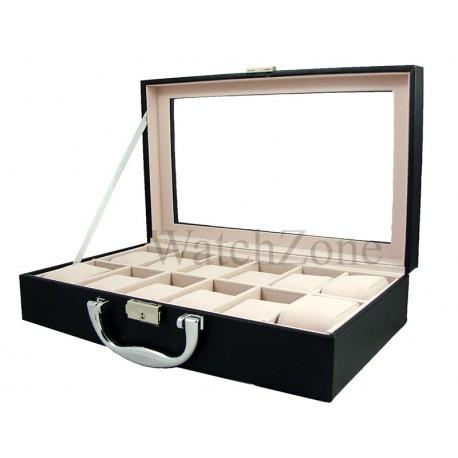 cutie-depozitare-si-organizare-12-ceasuri-neagra-alba