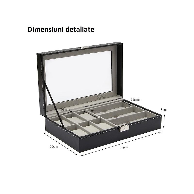 cutie-depozitarea-ceasuri-si-ochelari-neagra-