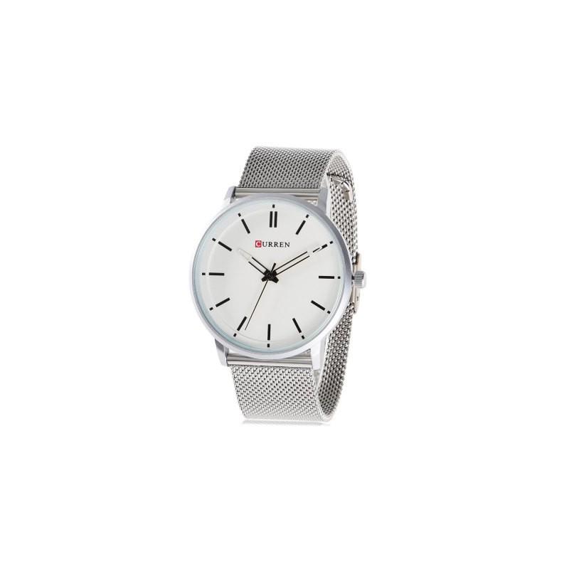 ceas-barbatesc-curren-original-argintiu-m8233