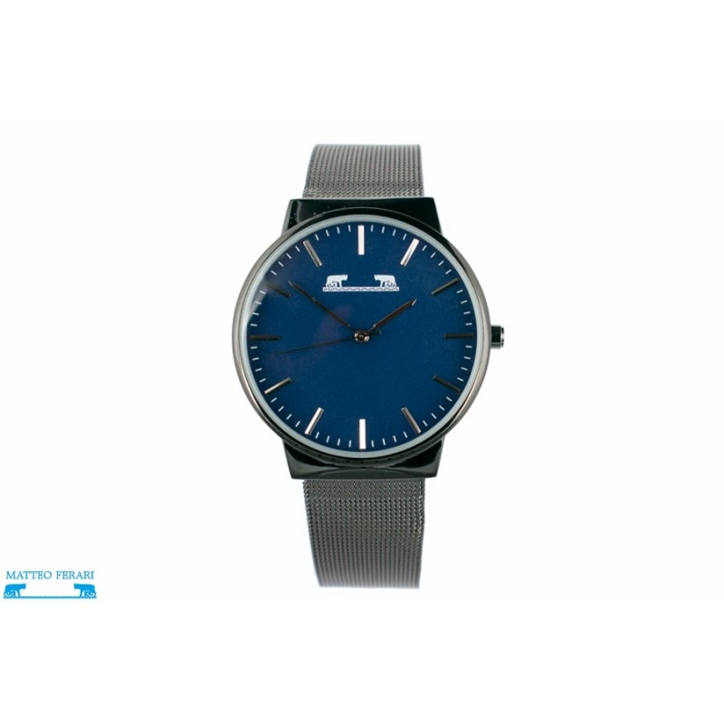 ceas-dama-matteo-ferari-blackblue-casual-v-mf88005bkb