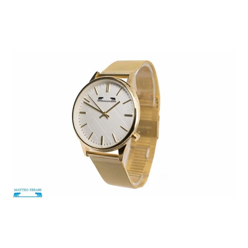 ceas-dama-matteo-ferari-mf88012-gold