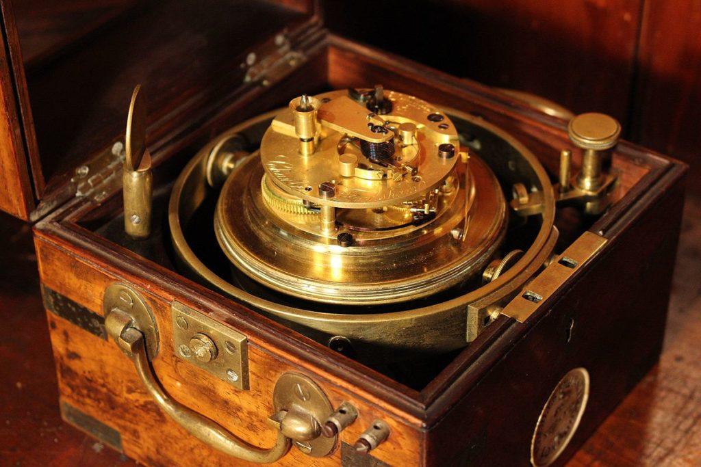 Frodsham_chronometer_mechanism
