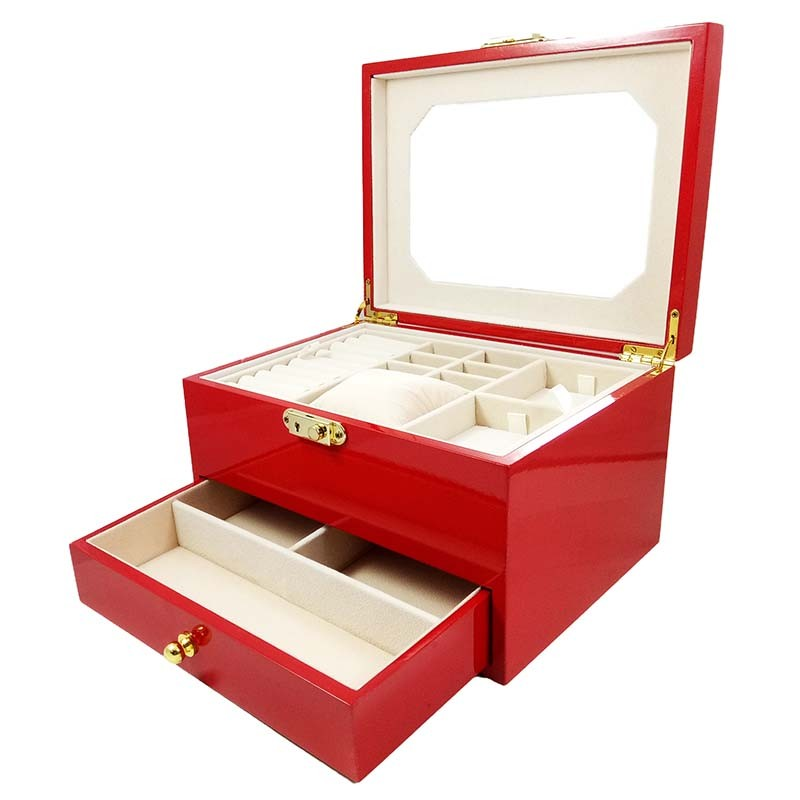 caseta-bijuterii-lemn-rosie-neagra-lucille-wz2067