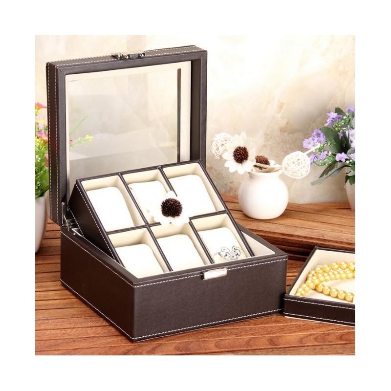 caseta-pentru-6-ceasuri-cu-tavita-pentru-depozitare-bijuterii (1)