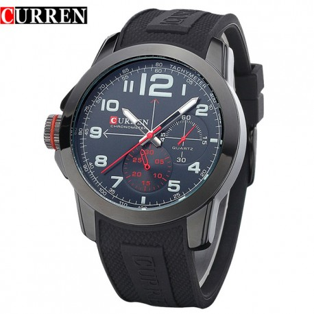 ceas-barbatesc-curren-m8182a-black