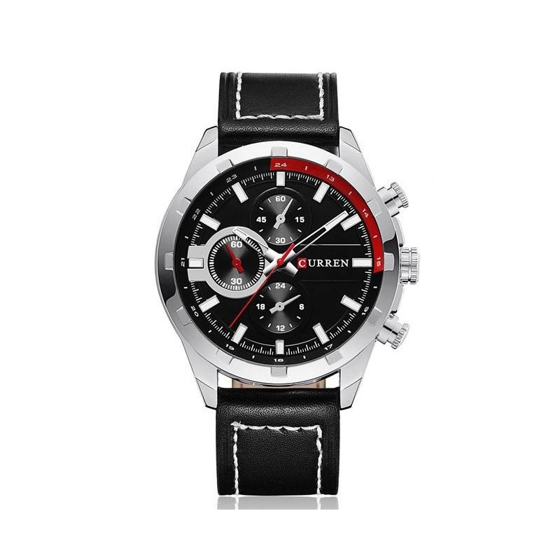 ceas-barbatesc-curren-original-negru-m8216