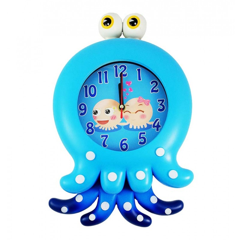 ceas-de-perete-pentru-copii-blue-octopus-xw7260