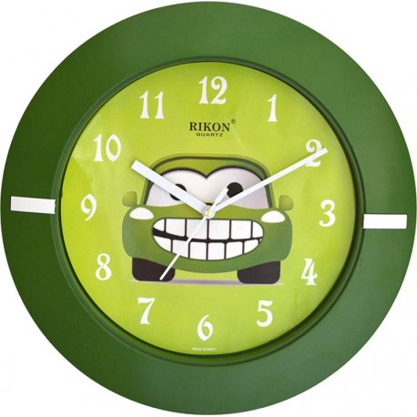 ceas-de-perete-verde-pentru-copii-rikon-2751