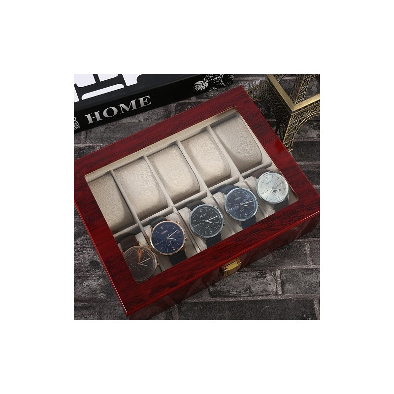 cutie-depozitare-10-ceasuri-de-mana-lemn-cadou